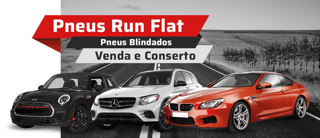 Pneus Run Flat - Venda e Conserto